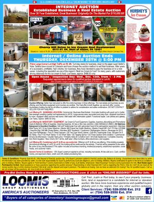 Established Business and Real Estate Auction